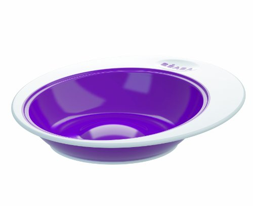 BEABA Ellipse Bowl, Plum - 1
