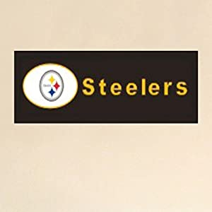 NFL Graphic Art Plaque NFL Team: Pittsburgh Steelers at Steeler Mania