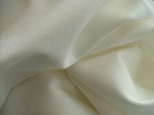 Cotton Canvas fabric - Off White Colour - New off the roll - per metre