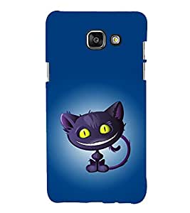printtech Alice Wonderland Cat Back Case Cover for Samsung Galaxy A7 (2016)