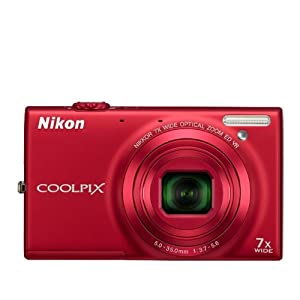 COOLPIX S6100 Red