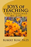 img - for JOYS of TEACHING:: They Touched My Life book / textbook / text book
