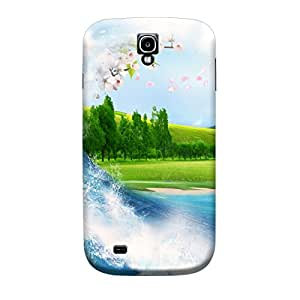 iShell Premium Printed Mobile Back Case Cover With Full protection For Samsung S4 (Designer Case)