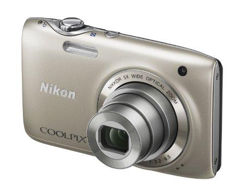 Nikon Coolpix S3100 Digital Camera - Silver (14MP,