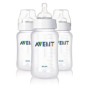 Philips AVENT - SCF686/37 - Lot de 3 Biberons - 330 ml - PP - Sans BPA