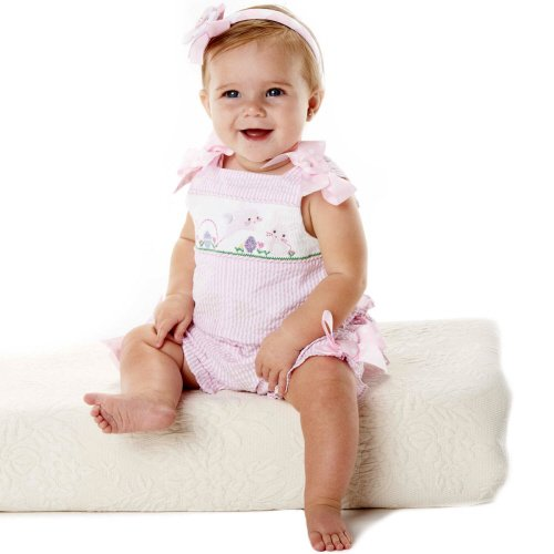 Mud Pie Pink Bunny Bubble Outfit