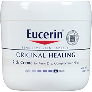 Eucerin Original Healing Soothing Repair Creme, 16 Ounce