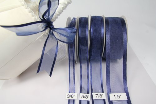 navy-blue-organza-ribbon-with-satin-edge-25-yards-x-5-8-inches