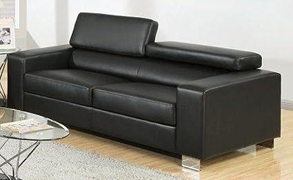 Makri Sofa In Black by Furniture of America