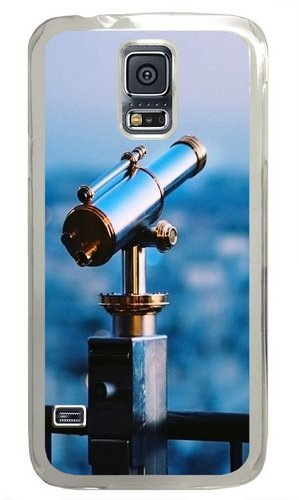 Astronomical Telescope Custom Samsung Galaxy S5 Case And Cover - Polycarbonate - Transparent
