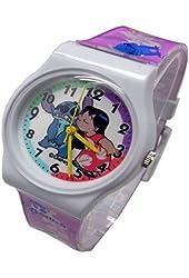 "Disney Lilo & Stitch Watch For Kids .Large Analog Dial. 9""L Band."