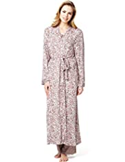 Per Una Cool Comfort&#8482; Animal Print Dressing Gown