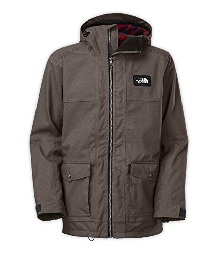 The North Face Tight Ship Jacket Men'S Graphite Grey Wooly Xxl