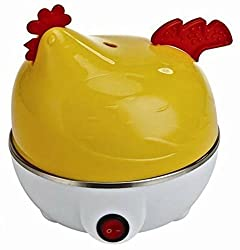 Egg boiler, egg steaming device, egg cooker, egg boiler cook eggs right with cooker. Up to 7 Eggs at a Time. Available in Random Colors