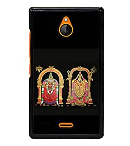 printtech Lord God South India Back Case Cover for Nokia XL
