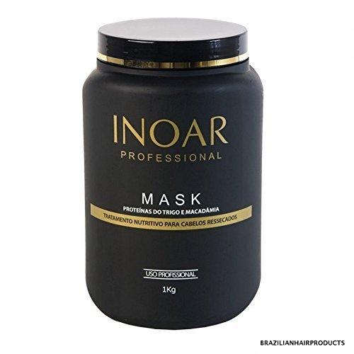 Maschera Brasiliana alla macadamia e alle proteine 1 Kilo della INOAR
