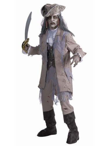 Zombie Pirate Ghost (Male) Adult Costume Size Standard