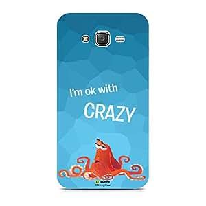 Hamee Disney Pixar Finding Dory Official Licensed Designer Cover Hard Back Case for Samsung Galaxy J5 - 6 / J5 2016 Edition (Hank / Crazy)