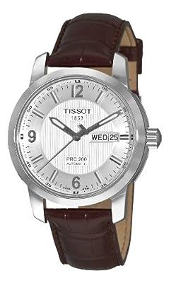 Tissot Men's T0144301603700 PRC 200 Silver Day Watch by Tissot