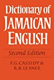 img - for Dictionary of Jamaican English book / textbook / text book