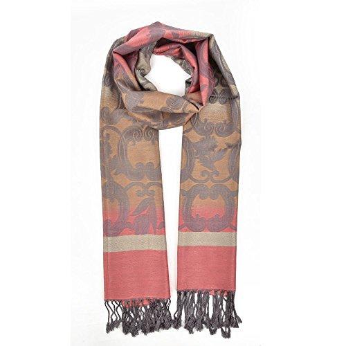 fashion-para-mujer-para-hombre-invierno-gradiente-borla-bufanda-envuelve-chal-bufanda-rosa-melocoton