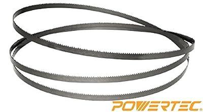 POWERTEC 13182X Band Saw Blade 70-1/2-Inch x 1/4-Inch x 14 TPI from POWERTEC
