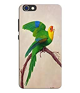 EU4IA Colourful Parrot Pattern MATTE FINISH 3D Back Cover Case For Huawei Hon...