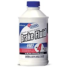 Gunk M4512 DOT 4 Super Heavy Duty Brake Fluid - 12 fl. oz.
