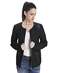 Only Women'S Casual Jacket (_5712835470785_Black_Small_)