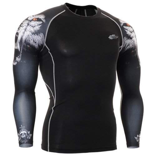 Leohester Men's Running Compression Baselayer