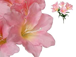 60 Easter Artificial Lilies Wedding Flowers Wholesale