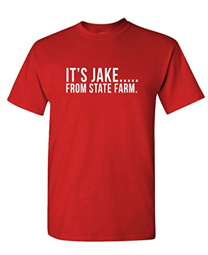 its-jake-from-state-farm-funny-commercial-mens-cotton-t-shirt-l-red