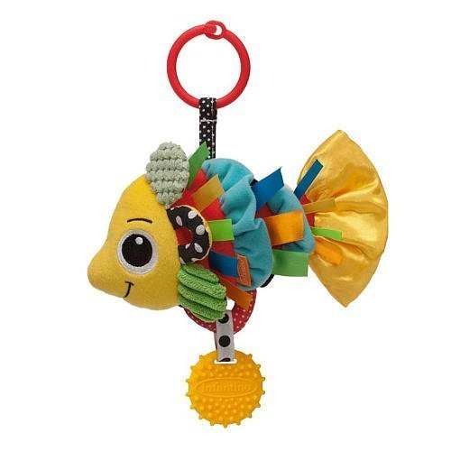Infantino Lovable Linkable Jittery Fish - 1