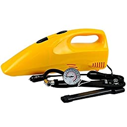 2 in 1 Inflator Air Compressor Portable Handheld Car Home Dust Vacuum Cleaner Collector by DJ store