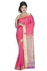 Srinidhi Silks Pink Silk Sari (Ssi 017 shrindi)