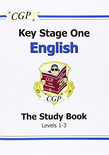 KS1 English SATs Study Book - Levels 1-3: Study Book (Levels 1-3) Pt. 1 & 2 (Revision Guide)