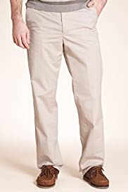 Big & Tall Pure Cotton Stormwear™ Flat Front Regular Fit Chinos