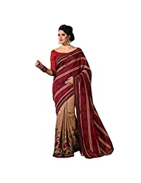 Ashika Designer Multi Color Raw Silk Material Saree, Sari(240)
