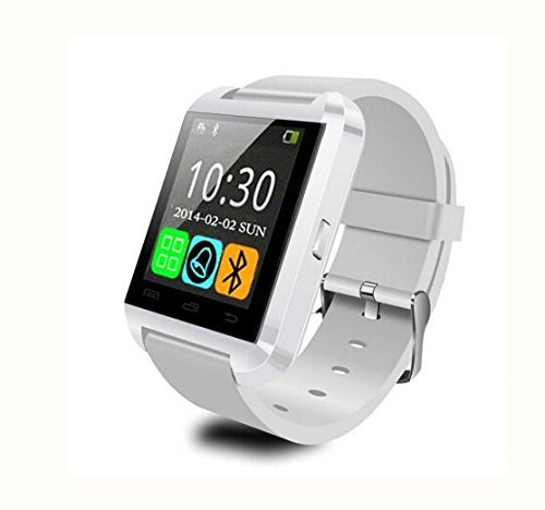 LEMFO LEMFO Bluetooth Smart Watch WristWatch U8 UWatch Fit for Smartphones IOS Apple iphone 4/4S/5/5C/5S Android Samsung S2/S3/S4/Note 2/Note 3 HTC Sony Blackberry (White)
