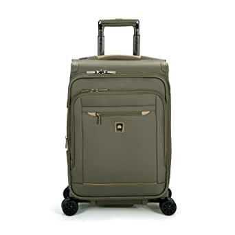 delsey luggage helium x 39 pert lite 2 0 expandable spinner suiter trolley green one. Black Bedroom Furniture Sets. Home Design Ideas