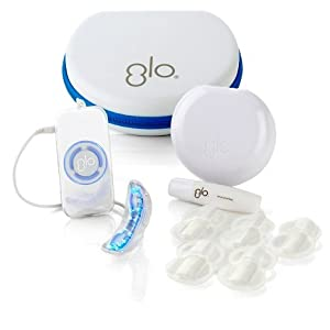 GLO Brilliant Compact Personal Teeth Whitening Device