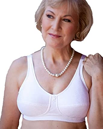 103 B38 White American Breast Care Soft Cup Bra
