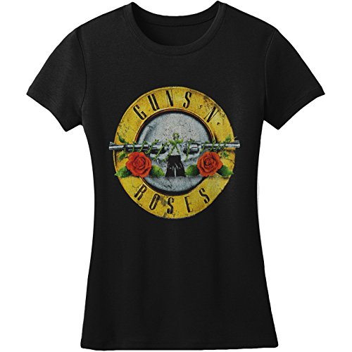 Licesned Guns N Roses Women's Distressed Tee - 6 Designs - S to XXL