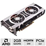 XFX AMD Radeon HD 7850 2 GB DDR5 2DVI/HDMI/2xMini DisplayPort PCI-Express Video Card (FX785ACDFC)