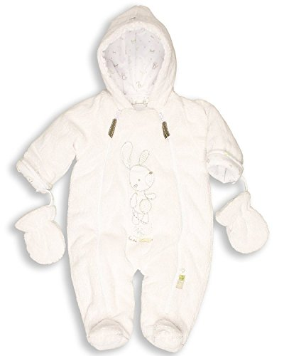 The-Essential-One-Baby-Fur-Snowsuit-Pram-3-6-months-White