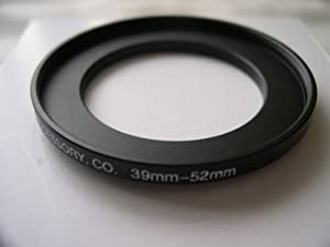 HeavyStar Dedicated Metal Stepup Ring 39mm-52mm