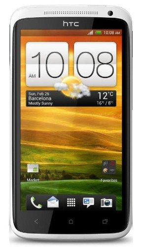 HTC One X Unlocked GSM Android SmartPhone - No Warranty (White) with Beats Audio (Htc One X compare prices)