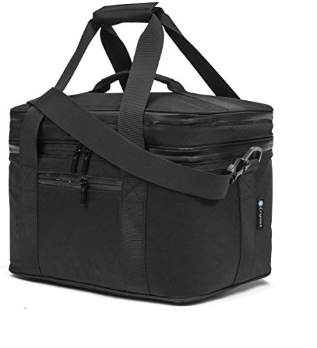 Cryost Cooler Insulated Lunch Bag, Black (Insulated Lunch Bag Black compare prices)