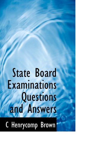 State Board Examinations Questions and Answers