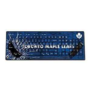 NHL Toronto Maple Leafs Keyscaper Wireless USB Keyboard